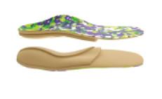Modele dla stopy koślawej lub płako-koślawej